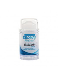 "Дезодорант — Кристалл  ""ДеоНат"" чистый, стик, вывинчивающийся (twist-up) , 80 гр."