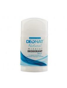 """Дезодорант — Кристалл """"ДеоНат"""" чистый, стик плоский, вывинчивающийся (twist —up), 100 гр."""