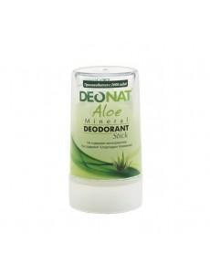 """Дезодорант — Кристалл""""ДеоНат"""", с натуральным  соком АЛОЭ ,  стик зеленый, 40 гр."""