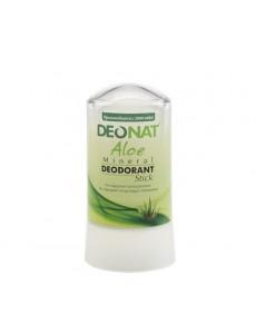 """Дезодорант — Кристалл """"ДеоНат""""с натуральным экстрактом  АЛОЭ и глицерином, стик, 60 гр."""
