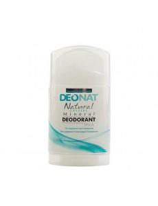 """Дезодорант — Кристалл """"ДеоНат"""" стик цельный, овальный, узкий, выдвигающийся (push — up), 100 гр."""