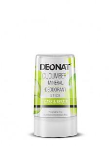 """Дезодорант-Кристалл """"ДеоНат"""" с экстрактом ОГУРЦА, стик 40 гр."""
