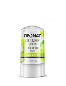"""Дезодорант-Кристалл """"ДеоНат"""" с экстрактом ОГУРЦА, стик, 60 гр."""