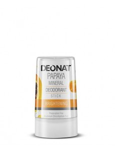"Дезодорант-Кристалл ""ДеоНат"" с экстрактом ПАПАЙИ, стик 40 гр."