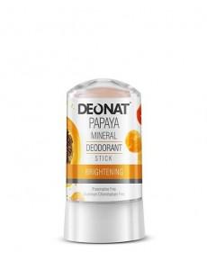 "Дезодорант-Кристалл ""ДеоНат""с экстрактом ПАПАЙИ, стик, 60 гр."