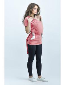 Loona слингомайка короткий рукав, цвет Rose