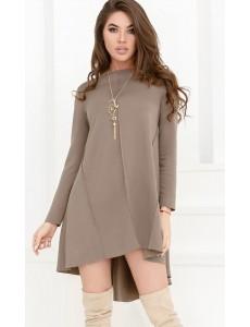 Трикотажное платье-клеш 24828