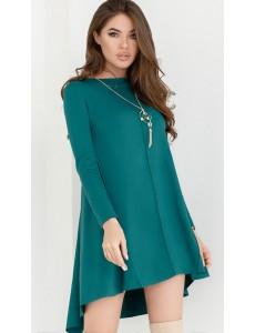 Трикотажное платье-клеш 24798