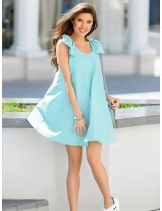 Летнее платье-клеш 20972