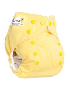 Многоразовый подгузник GlorYes! CLASSIC Нежно-желтый 3-15 кг + один вкладыш