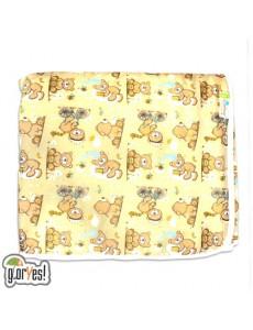 Впитывающая пеленка GlorYes! Медвежонок 120х100 см