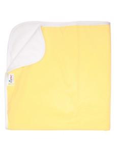 Впитывающая пеленка GlorYes! Нежно-желтая 80х68 см