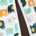 Впитывающая пеленка GlorYes! PREMIUM Слоны 80х68 см