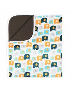 Впитывающая пеленка GlorYes! PREMIUM Слоны 120х100 см