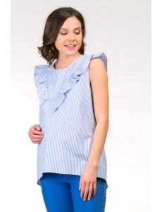 Асимметричная блузка для беременных арт. 11360