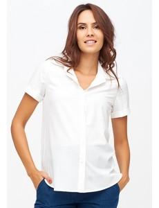 Классическая белая блузка для беременных арт. 11186