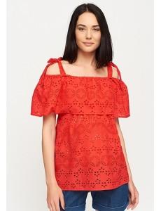 Блузка для беременных и кормящих арт. 11175