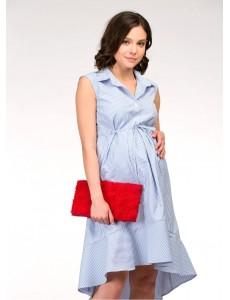 Платье с асимметричным низом для беременных и кормящих арт. 99380