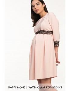 Нарядное платье для беременных и кормящихарт. 99374