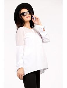 Блузка белая для беременных арт. 11365