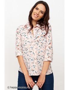 Блузка светло розовая для беременных арт. 11151