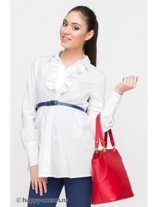 Рубашка белая для беременных арт. 11284