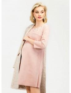 Платье замшевое для беременных и кормящих, арт. 99427
