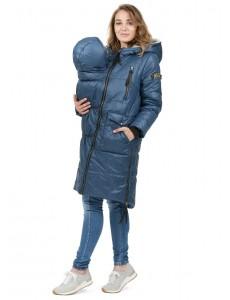 """Куртка 3в1 зимн. """"Принстон"""" для беременных и слингоношения синий"""