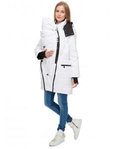 """Куртка 3в1 зимн. """"Манила"""" белая для беременных и слингоношения"""