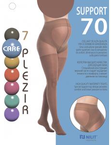Support 70 колготки жен. Загар 7 PLEZIR