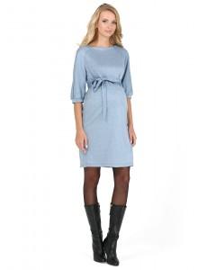 """Платье """"Гретхен"""" для беременных голубой"""