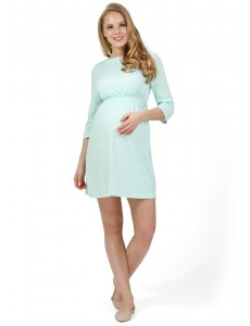 """Платье """"Софи"""" для беременных и кормящих ментол"""