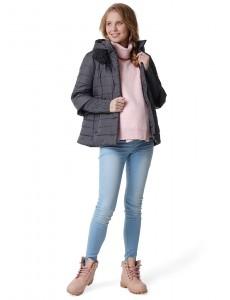 """Куртка демис 2в1 """"Аликанте"""" для беременных серый"""