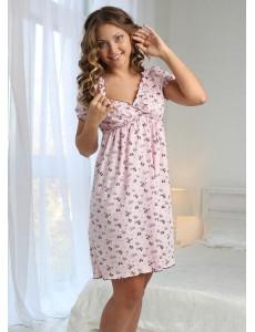 Ночная сорочка Kelly для беременных и кормящих кофе 4702