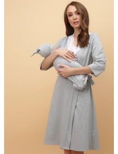 """Комплект для роддома """"Melissa"""" для беременных и кормящих меланж"""