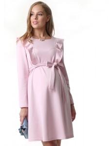 """Платье """"Лейла"""" для беременных и кормящих розовый"""