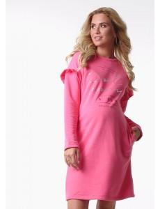 """Платье """"Патти"""" для беременных и кормящих; цвет: розовый"""