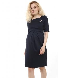 """Платье """"Инес"""" для беременных и кормящих; цвет: т.синий"""