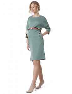 """Платье """"Тая"""" для беременных и кормящих; цвет: фисташковый"""