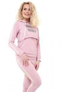 """Комплект для дома """"Джастин"""" для беременных и кормящих; цвет: розовый меланж"""