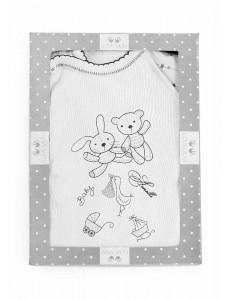 Набор для новорожденного, 6 предметов меланж (one size)