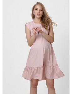 """Платье """"Аида"""" для беременных; цвет: пудровый"""