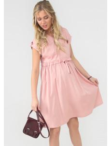 """Платье """"Сивилла"""" для беременных и кормящих цвет пудровый"""