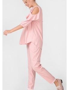 """Блуза """"Марэлла"""" для беременных; цвет: пудровый"""
