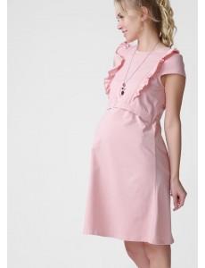 """Платье """"Венера"""" для беременных и кормящих; цвет: пудровый"""