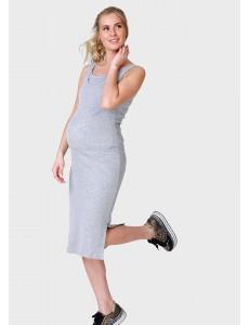 """Платье """"Кашкорсе"""" для беременных и кормящих; цвет: меланж"""