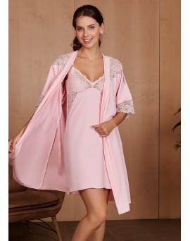 Комплект для роддома Izabel для беременных и кормящих; цвет: розовый 6438