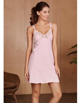 Ночная сорочка Izabel для беременных и кормящих; цвет: розовая 4438