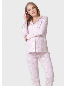 """Комплект для дома """"Кристофер"""" для беременных и кормящих цвет розовый"""