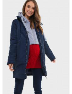 """Куртка демис. 2в1 """"Бриошь"""" для беременных цвет синий"""